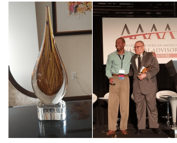 iSectors' Chief Investment Officer, Chuck Self, receives 2018 Leadership Legacy Award from the Association of African American Financial Advisors
